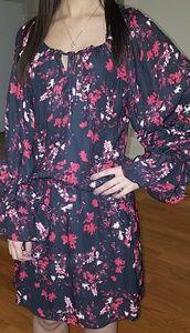 Parker Canna Long Sleeve Floral Dress XS & L